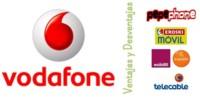 Ventajas y desventajas de Vodafone y OMVs bajo su cobertura