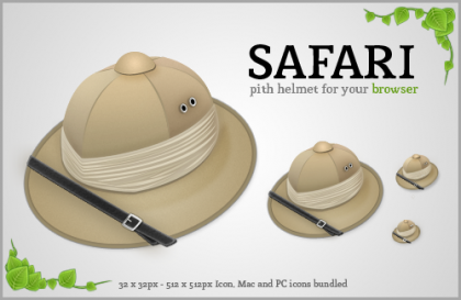 Sustituto para el icono de Safari