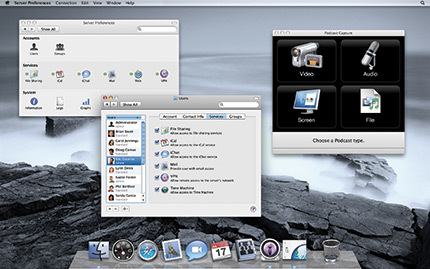 Novedades en Mac OS X Leopard Server