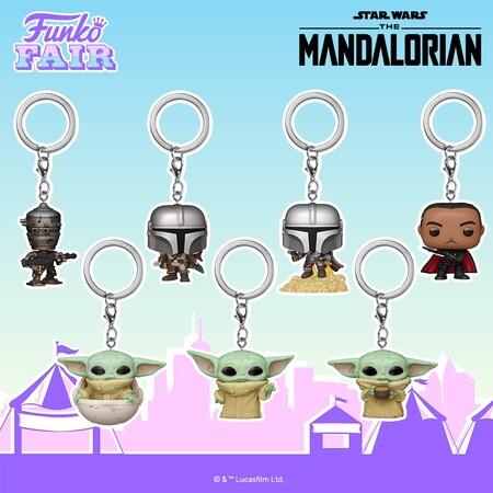 Llaveros Funko POP de The Mandalorian en preventa en Amazon México