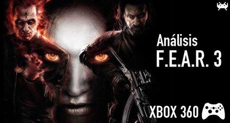 'F.E.A.R. 3' para Xbox 360: análisis