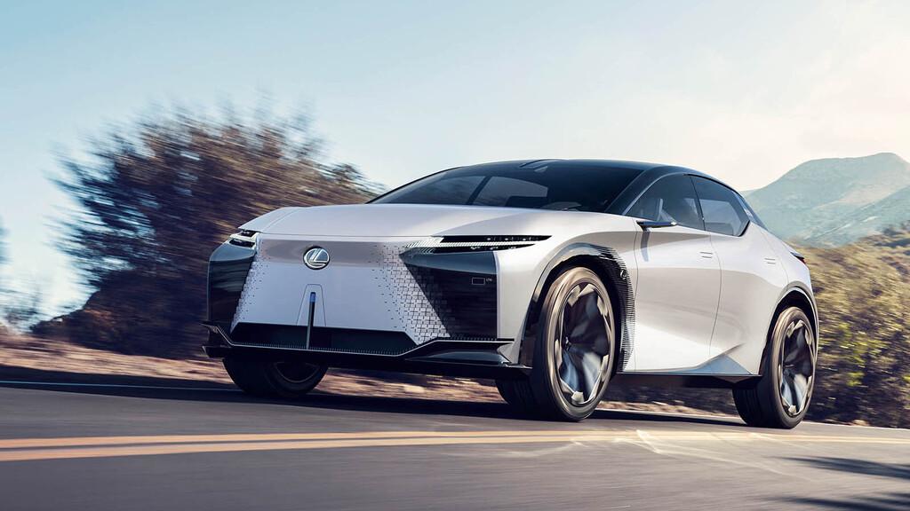 El Lexus LF-Z Electrified es un crossover eléctrico de 544 CV y 600 km de autonomía que nos enseña el futuro electrificado de Lexus