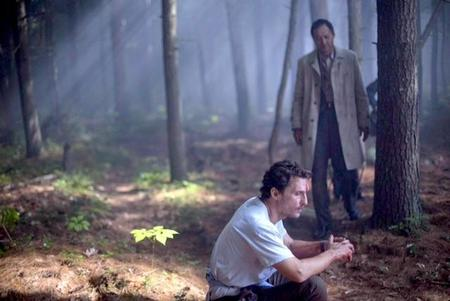McConaughey y Watanabe en The Sea Of Trees