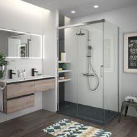 La nueva mampara Copenhague nos da la clave para vestir un baño con mucho estilo