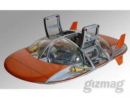Un submarino a pedales para tus momentos de ocio de lujo