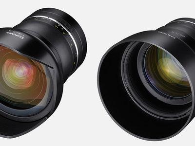 Los Samyang Premium XP 85mm f/1,2 y 14mm f/2,4 ya están a la venta