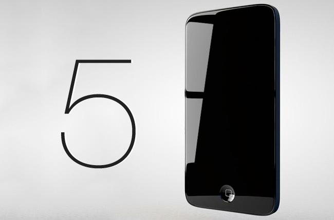 Imagen conceptual del nuevo iPhone 5