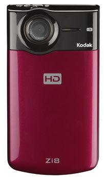 Kodak Zi8 sube la grabación de vídeo a 1080p