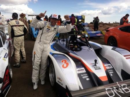 El eO PP03 lo ha conseguido: es el primer coche eléctrico en ganar Pikes Peak