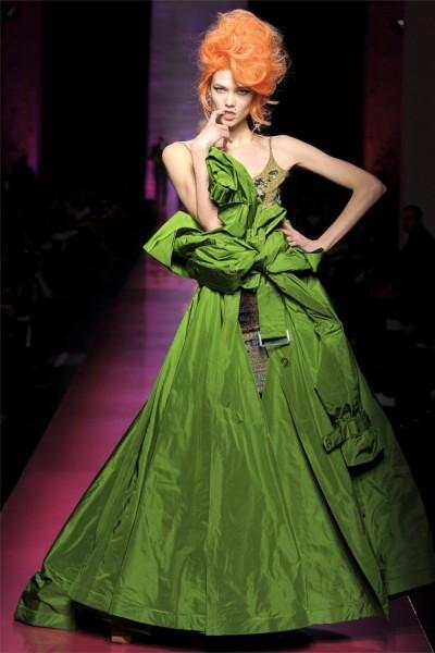 Una idea, una oda y una canción rota. Jean Paul Gaultier Alta Costura Primavera-Verano 2012