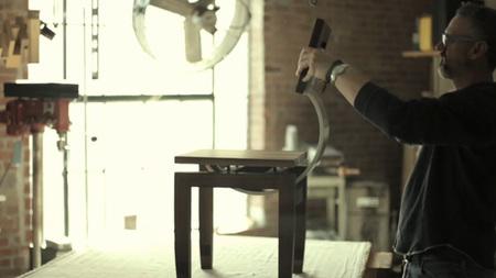 Cómo se fabrica una silla artesanalmente, por Daniel Moyer