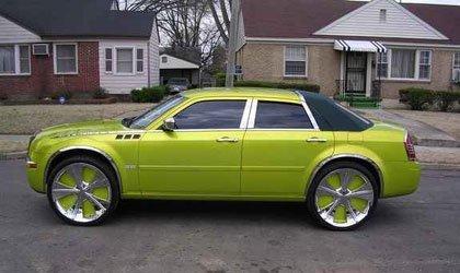 El Chrysler 300C en versión Hot Wheels
