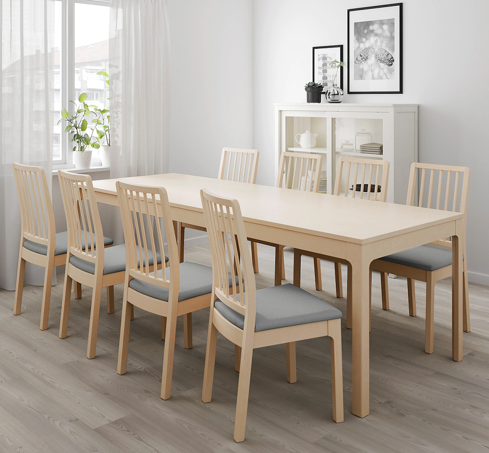Laboratorio lucha Ligeramente  Problemas para sentarse a la mesa en Navidad? Ikea soluciona el problema  con esta selección de mesas extensibles y sillas plegables