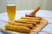 Banderillas de salchicha. Receta para el Mundial 2014