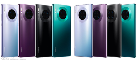 Huawei Mate 30 Series Color Options Leaked