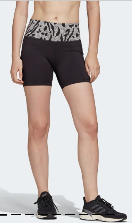 Pantalón corto Believe This High-Rise Black / Black