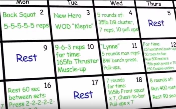 Este vídeo te explica qué es CrossFit en menos de 2 minutos