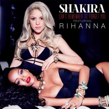 """Shakira y Rihanna, una """"rubia"""" y una morena en 'Can't Remember To Forget You'"""