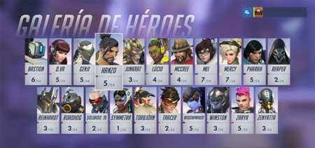Overwatch Personajes