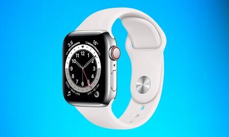 Chollazo: ahorra más de 150 euros estrenando un Apple Watch Series 6 de 40mm en acero GPS + Celular