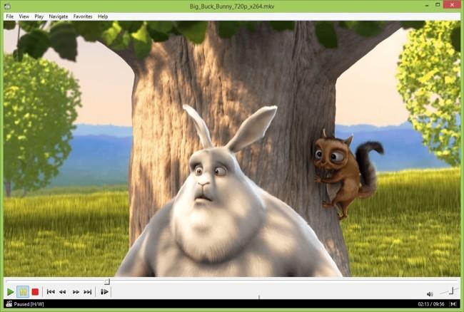 Media Player Classic Home Cinema y el soporte de archivos HEVC (H.265)