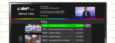 Probamos LOVEStv, la insólita unión de Atresmedia, Mediaset y RTVE para vitaminar nuestra TDT