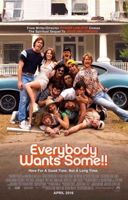 Cartel definitivo de Everybody Wants Some