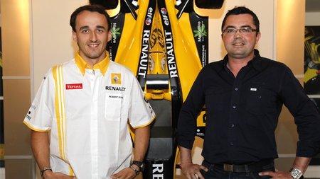 Robert Kubica renueva con Renault hasta 2012