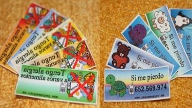 Peque Seguro: tatuajes temporales de seguridad para el niño