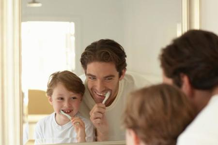 Pasta de dientes infantil