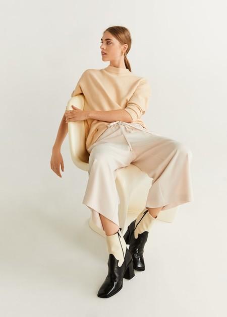 Pantalón culotte cordón