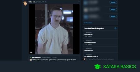 Cómo hacer un retweet con un GIF, foto o vídeo en Twitter