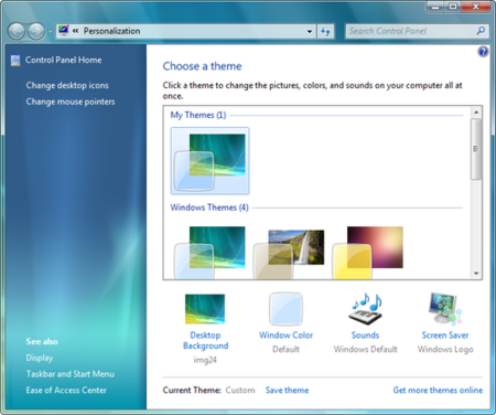 Temas en Windows 7