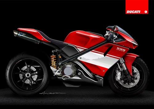DucatiSupermono599,resucitandolaleyenda