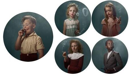 Smoking Kids, fotografías de niños fumando