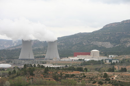 Cofrentes Nuclear Power Plant General View
