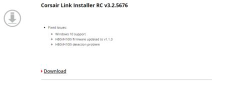 Corsair Link Windows10 Support