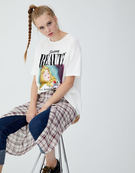 Camiseta Disney Pull Bear 10