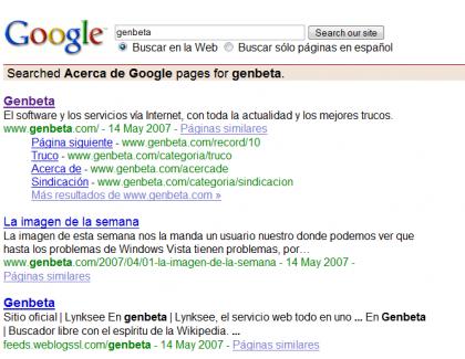 Buscar en Google sin que aparezca publicidad