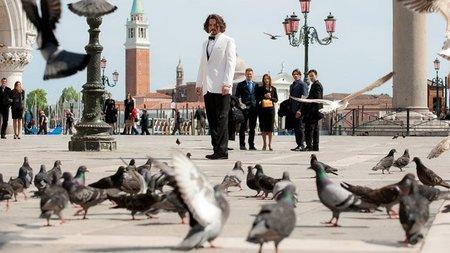 Venecia, la plaza de San Marco, en