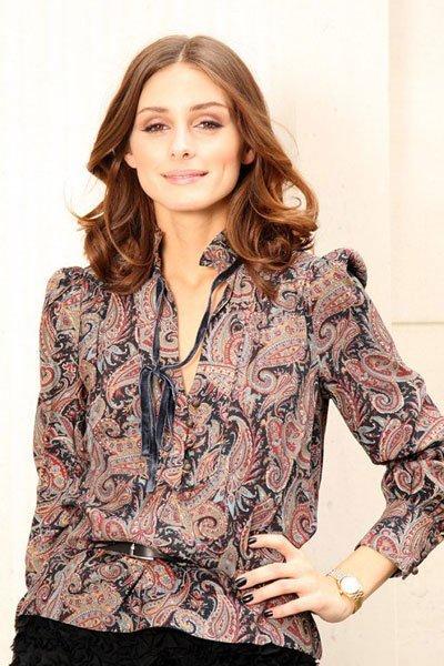 Otro look de Olivia Palermo vestida de Mango