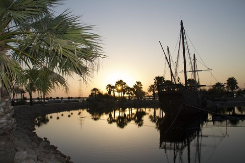 Muelle de las Carabelas, en Palos de la Frontera, para comprender los viajes de Colón