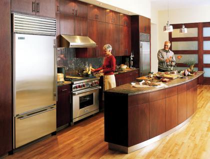 Distribucin de la cocina Cocinas en paralelo