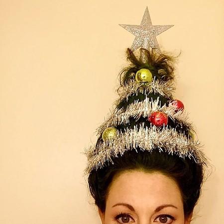 Cuando el peinado navideño se te va de las manos