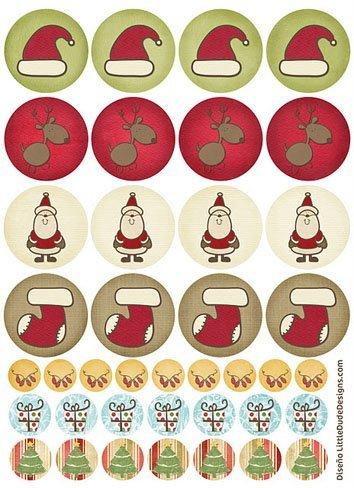 Tarjetas de Navidad para imprimir 3