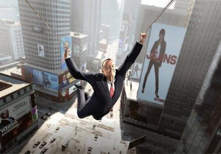 Mira qué pinta tiene Stan Lee como personaje jugable en 'The Amazing Spider-Man'. Ponte traje