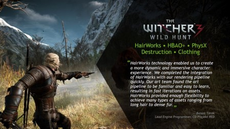 Nvidia Gameworks Witcher 3 Wild Hunt