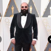 Paco Delgado, el único español nominado a los Oscar 2016, apuesta por el elegante terciopelo