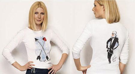 Camiseta Cure de Karl Lagerfeld