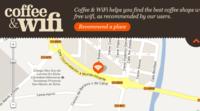 Coffee & WiFi, o cómo encontrar fácilmente bares con conexión a Internet